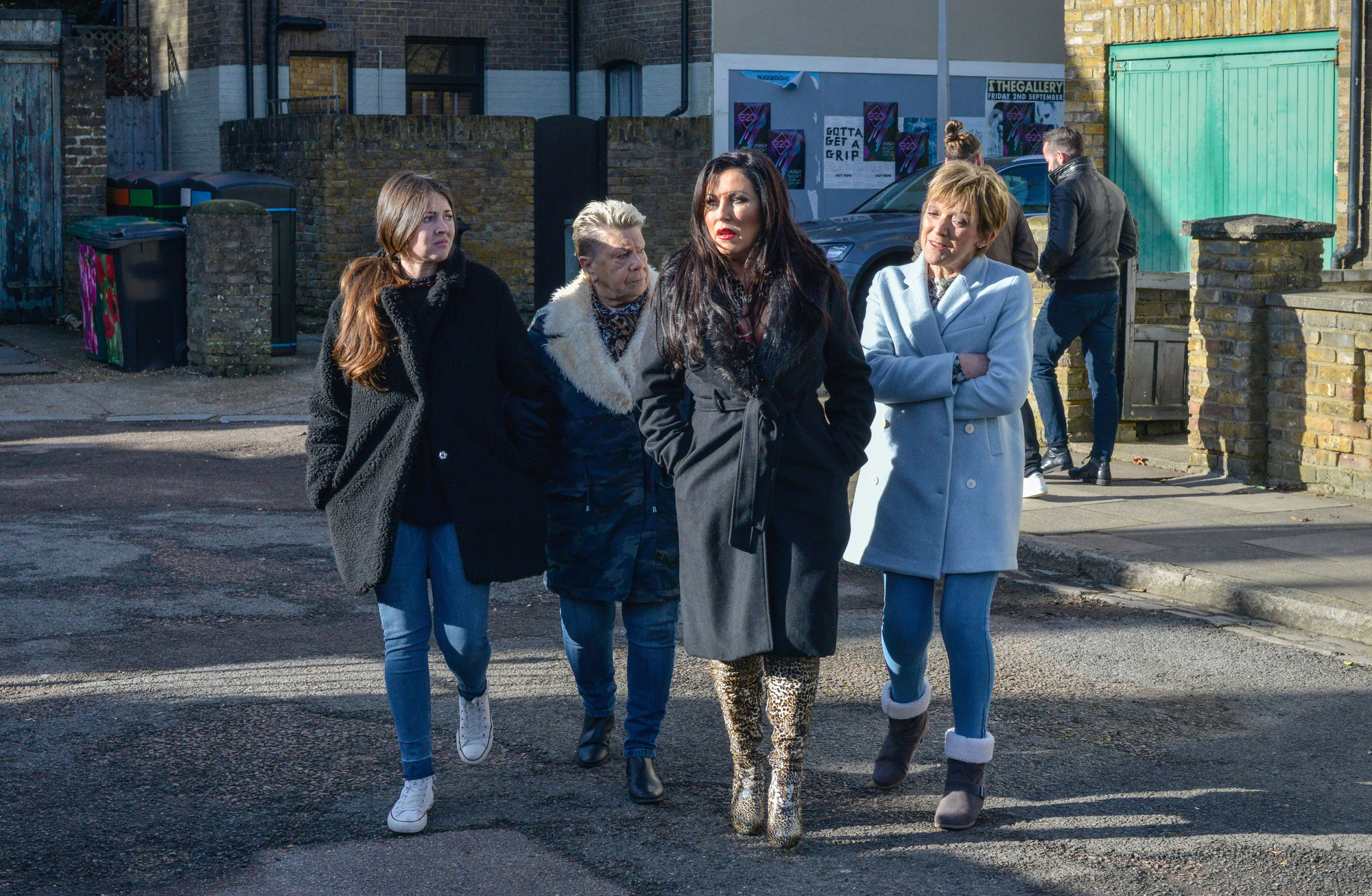 Kat and the Slaters go into business in EastEnders