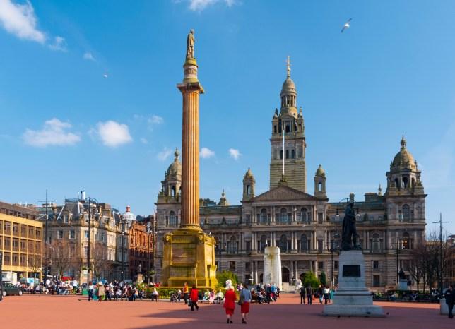 George Square in Glasgow (Picture: Getty)