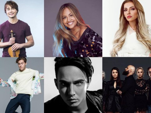 The winners and losers from the Eurovision 2018 second semi-final running order