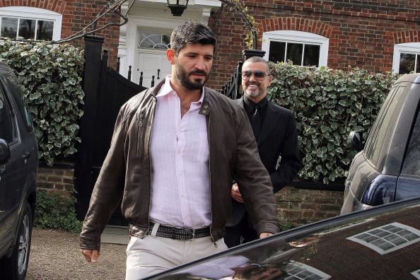 George Michael's partner Fadi Fawaz 'selling late singer's belongings' as he vows he 'won't get a job'