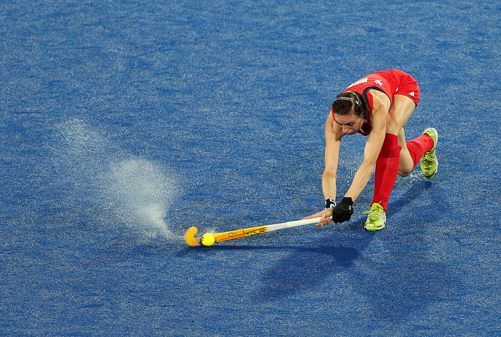 Why are hockey pitches wet? Commonwealth Games viewers confused by soggy surface