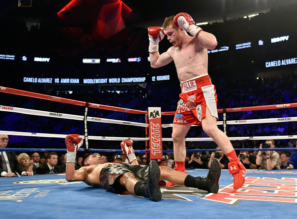 Amir Khan suspects Canelo Alvarez could have been cheating in their super-fight