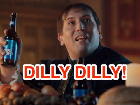 What does Dilly Dilly mean in the Bud Light adverts?