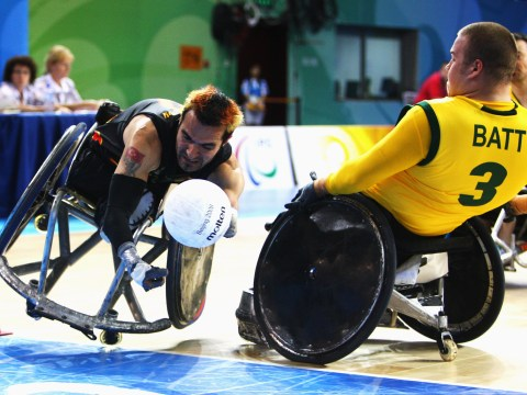 What is murderball and how did it get that name?