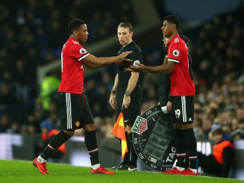 Jose Mourinho sends message to Anthony Martial and Marcus Rashford over their futures at Manchester United