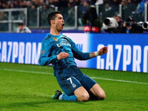 Cristiano Ronaldo makes Champions League history with goal against Juventus