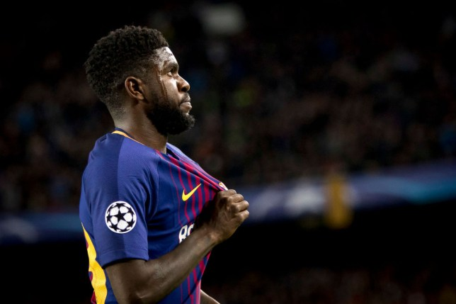 new product 7a226 a9159 Man Utd news: Samuel Umtiti explains goal celebration during ...