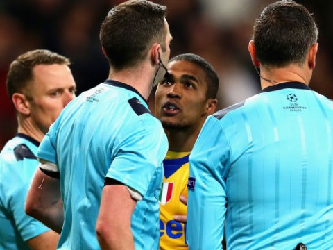Did Douglas Costa get Gianluigi Buffon sent off against Real Madrid?