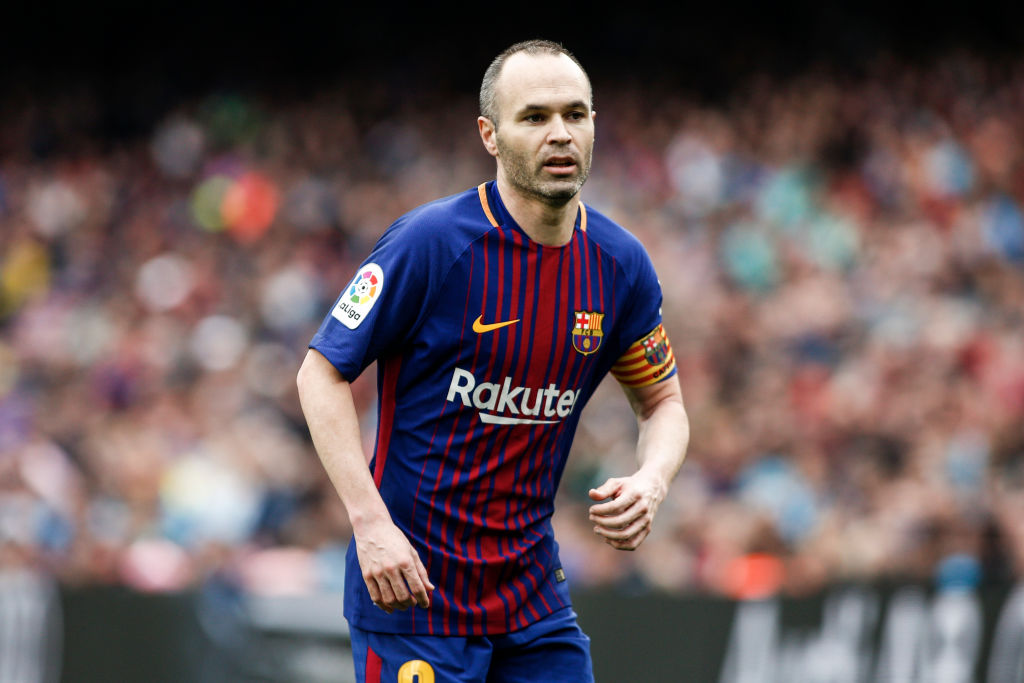 Andres Iniesta set to announce China move following Copa del Rey final
