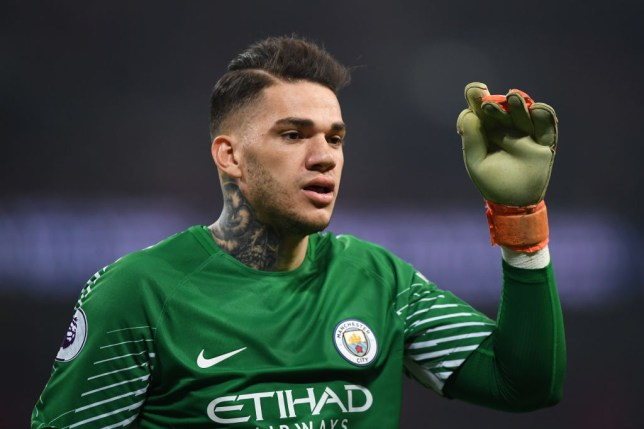 91a1e612fa3 Ederson has had an outstanding debut season at Manchester City (Picture:  Getty)