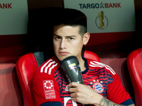 Can James Rodriquez play for Bayern Munich against parent club Real Madrid?