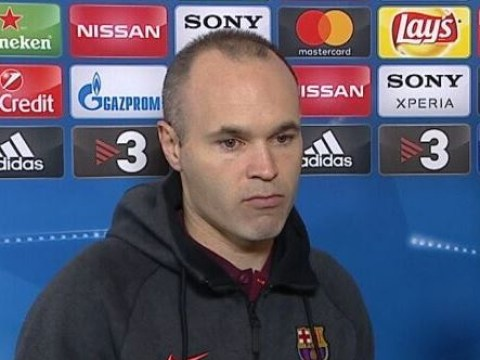 Andres Iniesta admits he could have played his final Champions League game for Barcelona