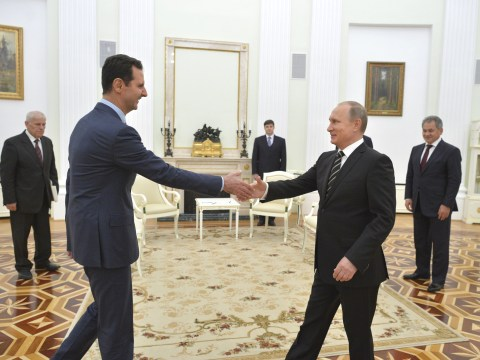 Why does Russia support Syria and President Assad?
