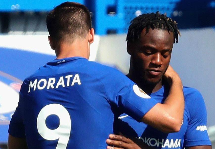 Michy Batshuayi speaks out on rivalry with Alvaro Morata at Chelsea