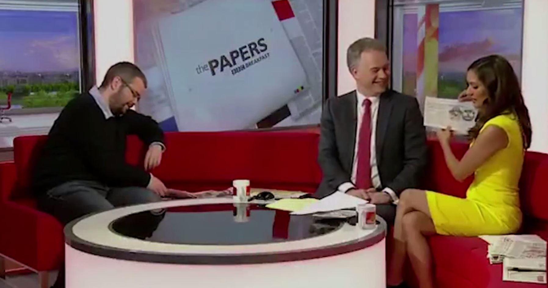 BBC Breakfast presenters fall for Brexit emojis April Fools joke