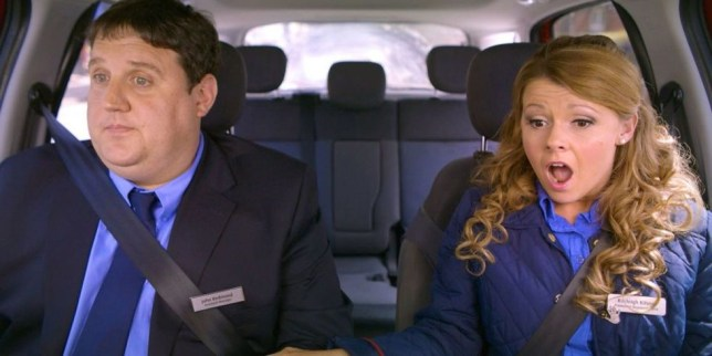 Photo from Peter Kay's Car Share