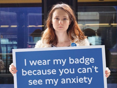 How TfL's 'please offer me a seat' badge helps Claire Eastham deal with her anxiety