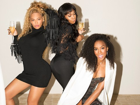 Beyonce, Kelly Rowland and Michelle Williams did not have to slay like this, but they did