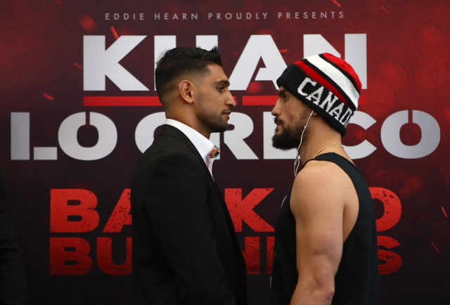 Amir Khan taking inspiration from boxing superstar Anthony Joshua ahead of comeback