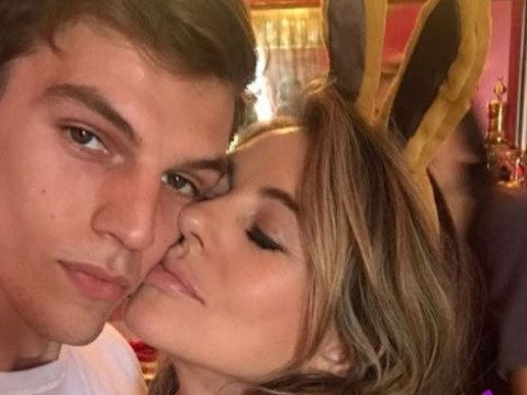 Elizabeth Hurley 'thanks god' for nephew's recovery from stabbing in Easter selfie