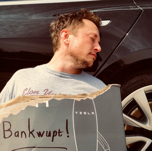 Elon Musk's April Fools' Day joke about Tesla going bankrupt could cost him a lot of money