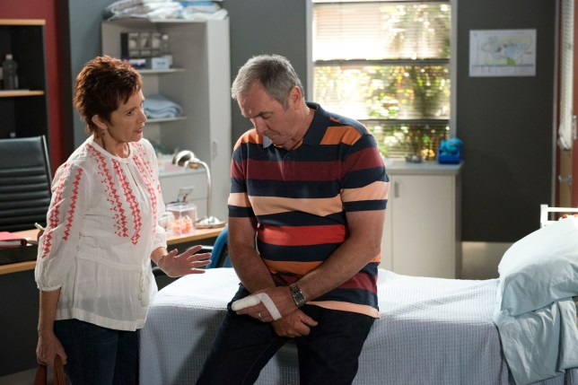 Susan and Karl in Neighbours