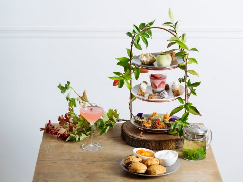 You can now enjoy a cannabis-infused afternoon tea