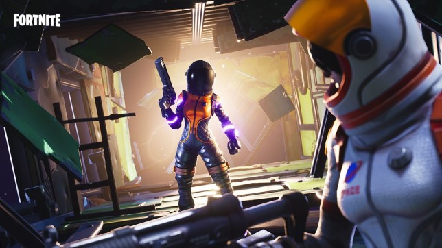 Halloween Fortnite.Halloween Decorations Are Being Added To Fortnite As Spider