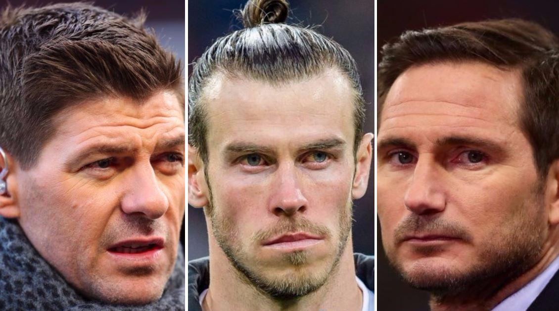 Frank Lampard and Steven Gerrard speak out after Gareth Bale's Real Madrid snub