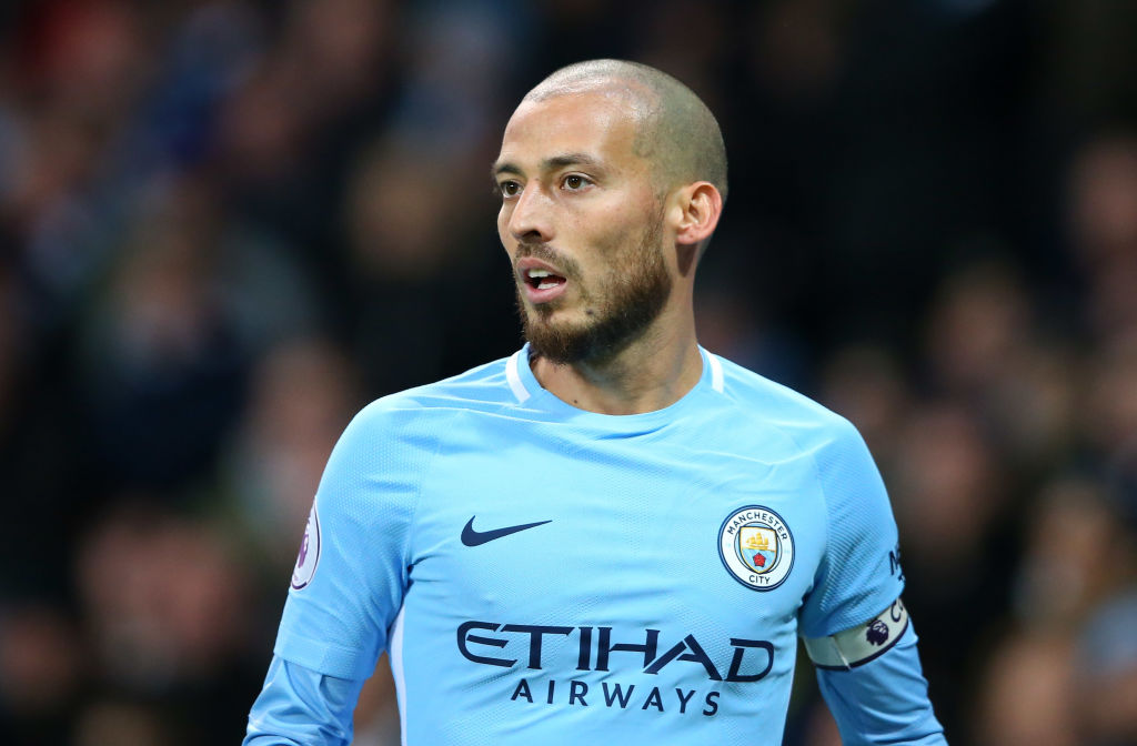 David Silva set to miss Manchester City's clash with West Ham