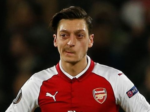 Mesut Ozil, Aaron Ramsey and Alexandre Lacazette to miss Manchester United clash as Arsene Wenger rests seven players