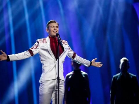 Eurovision 2018: Silky rehearsal for Iceland's Ari Olafsson and Our Choice