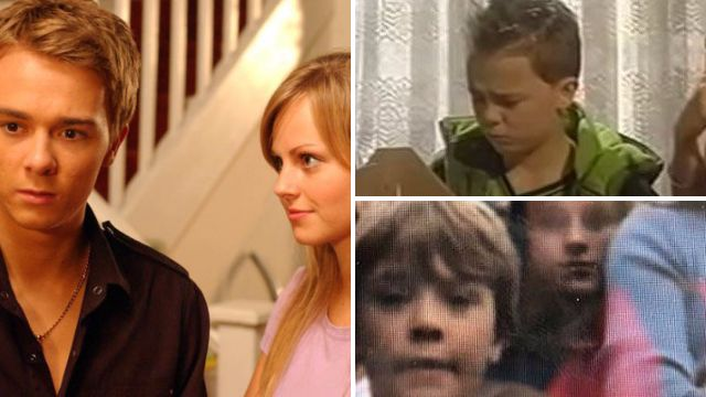 Jack P Shepherd and Tina O Brien as Sarah and David Platt in Coronation Street