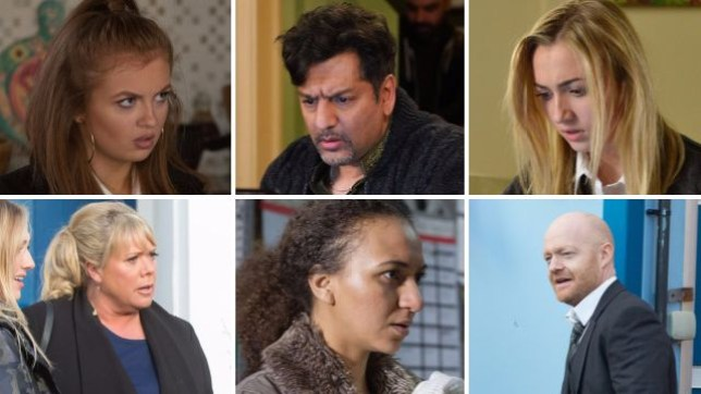 EastEnders spoilers for Tiffany, Masood, Louise, Sharon, Chloe and Max