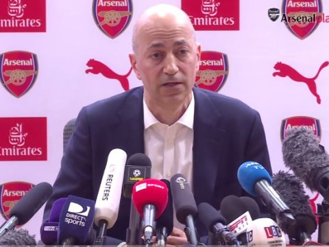 Ivan Gazidis issues warning to Arsenal's replacement manager for Arsene Wenger