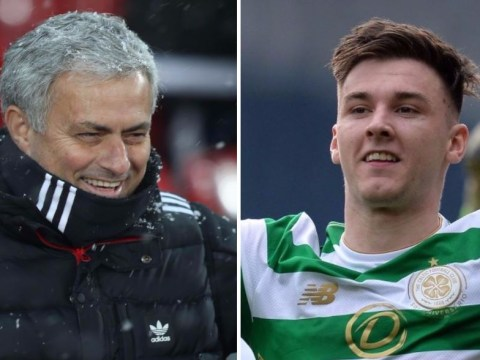 Kieran Tierney speaks out after Manchester United scout attends Celtic clash