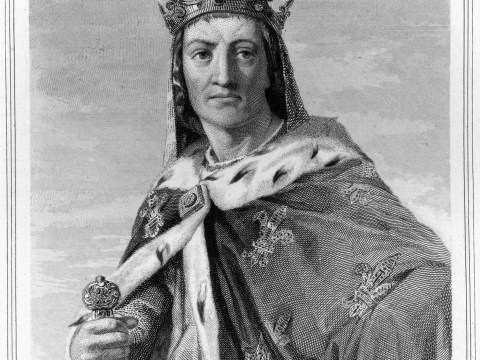 Has there been a King Louis of England before? Yes, sort of
