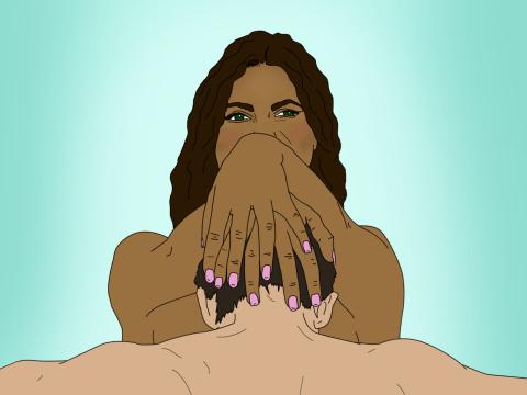 Black Girls Giving Head