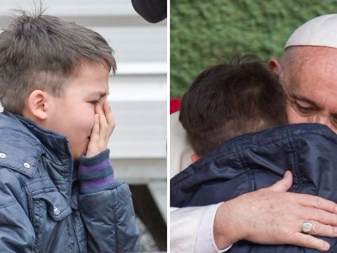 Pope comforts boy scared that his dead dad isn't in heaven because he was atheist