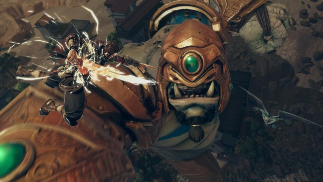 Game review: Extinction is a poor man's Attack on Titan