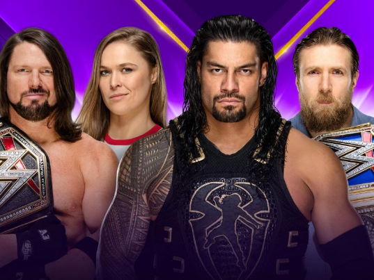 WrestleMania 34 LIVE: Updates as Roman Reigns, Brock Lesnar and Ronda Rousey step into the ring