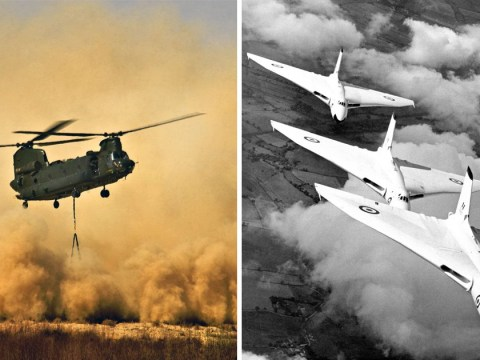 RAF releases 100 unseen photos to mark 100 years of protecting our skies