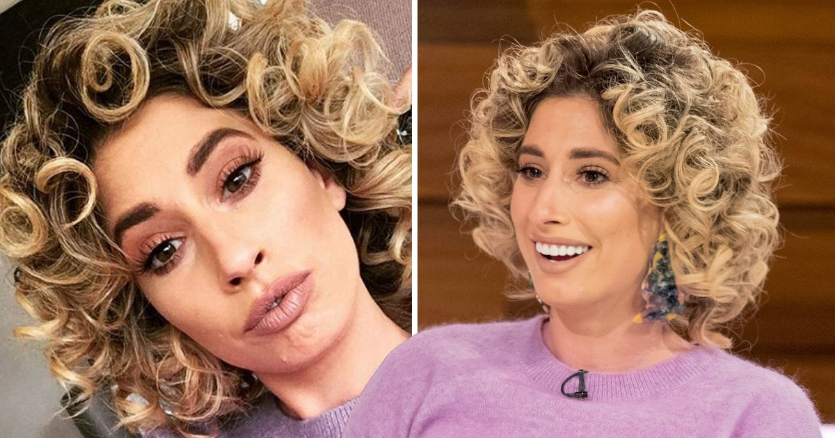 Stacey Solomon laughs off 'hilarious' hairstyle criticism as trolls attack curls: 'I'm not sorry'
