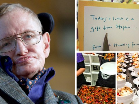 Stephen Hawking's final act before he died was to pay for Easter meal for homeless