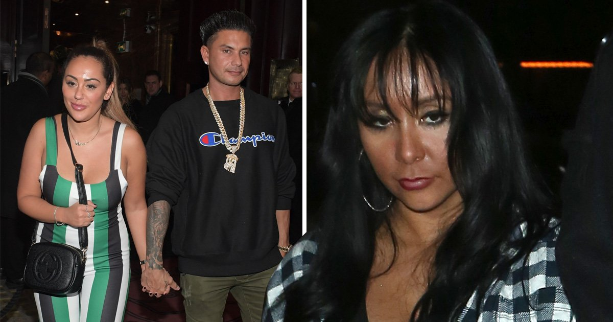 Pauly D and Sophie Kasaei hold hands as Jersey Shore and Geordie Shore collide