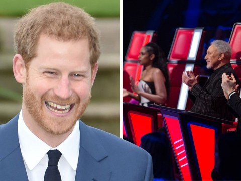 will.i.am reveals Prince Harry watches The Voice on Saturday nights