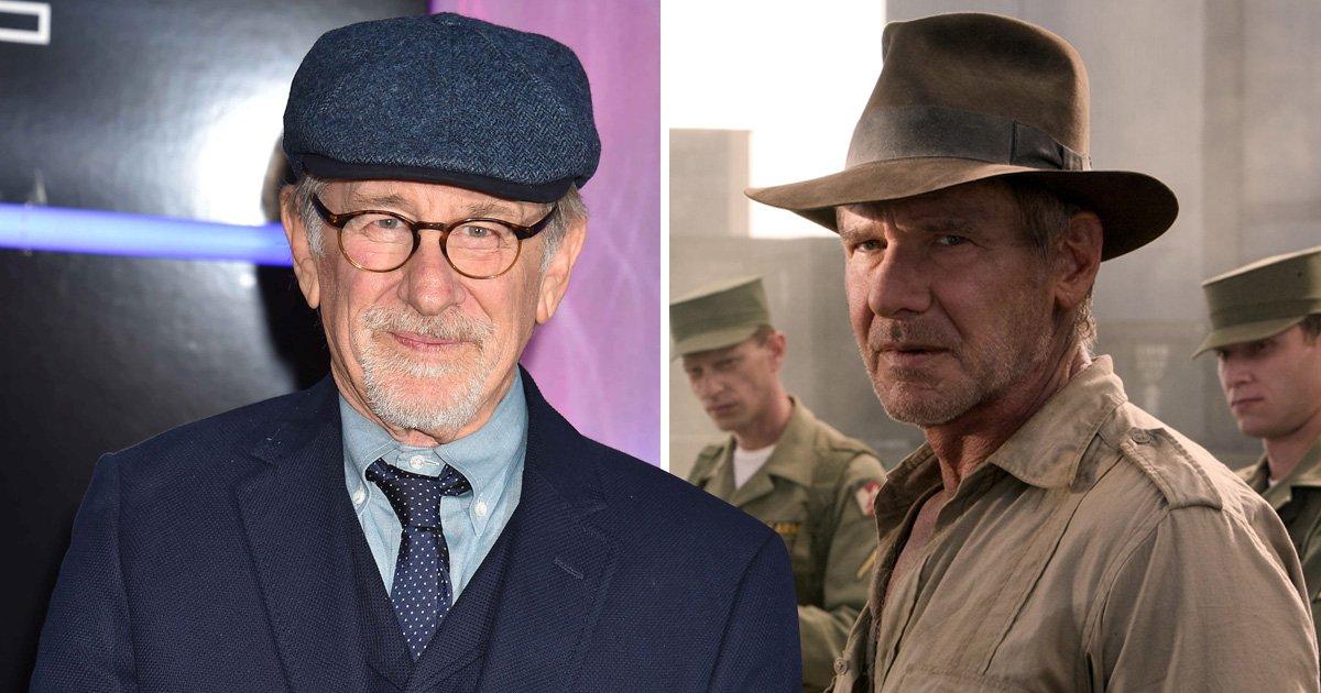 Steven Spielberg says Indiana Jones 5 will be Harrison Ford's last film