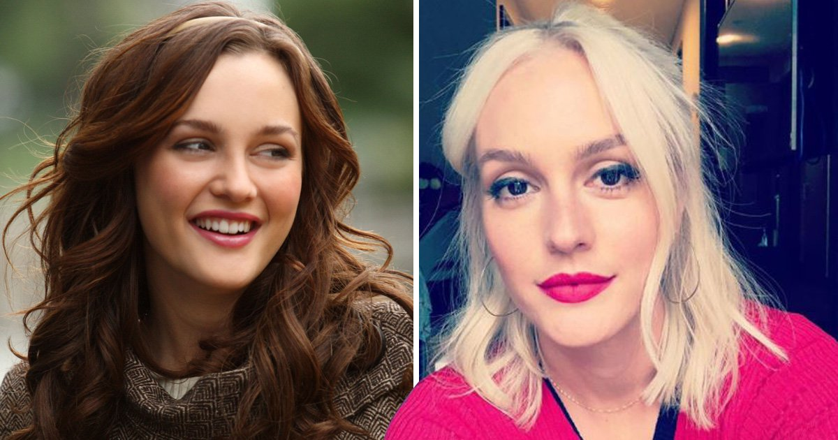 Leighton Meester is more Gwen Stefani than Blair Waldorf after extreme dye job