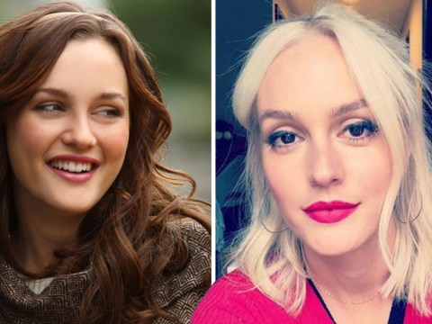 Leighton Meester is more Gwen Stefani than Blair Waldorf after extreme dye job
