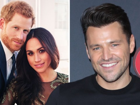 Michelle Keegan says husband Mark Wright will report on the Royal wedding